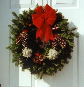 Handmade Christmas Wreath - Finestkind Tree Farms - Growers of Maine Balsam Christmas Trees